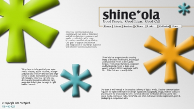 Shine*Ola - Sample Design